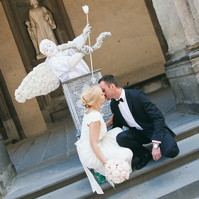 Wedding in Florence, Italy.