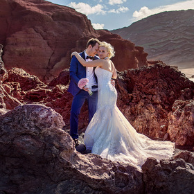 Wedding photographer on Lanzarote.
