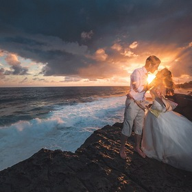 Wedding on Gris-Gris, Mauritius