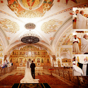 Wedding at the Cathedral of Christ the Savior