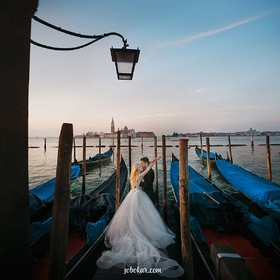 Romantic wedding in Italy