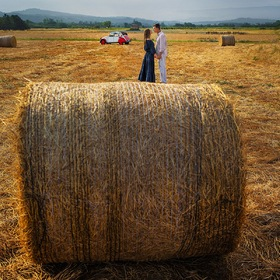 Love story in the fields